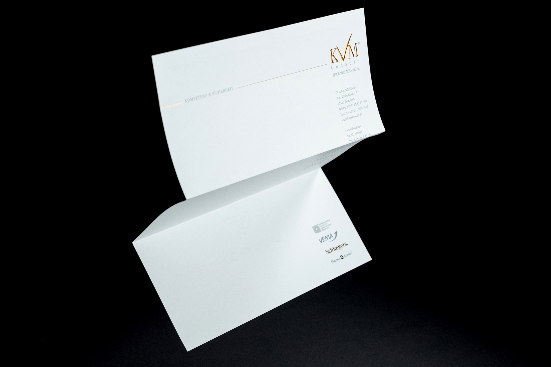 Briefpapier Corporate Design